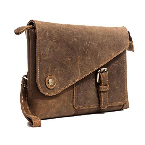 LXIANGP Herren Handtasche Leder Kupplung tragbar Casual Clutch Clutch, Länge 25 cm Breite 3,5 cm Höhe 17 cm