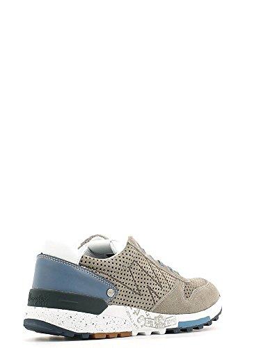 WRANGLER 1092 dimanche daim taupe hommes chaussures de sport lacets baskets élégant Beige