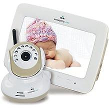 "Vitroteclabs, Camara vigila bebés digital con Pantalla a color LCD 7"""