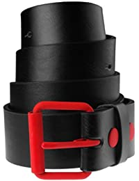 MasterDis Fashion Prong Belt Gürtel Black/Red
