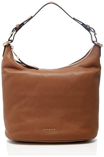 - 41XR7OK2eZL - Michael Kors 30F6GL6H3L Womens Lupita Shoulder Bag Brown (Acorn)