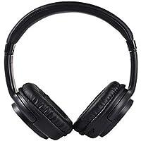 iBàste Auriculares Montado en la Cabeza Bluetooth 4.1 Cascos inálambrico Deportivos, Tarjeta enchufable,Ruido