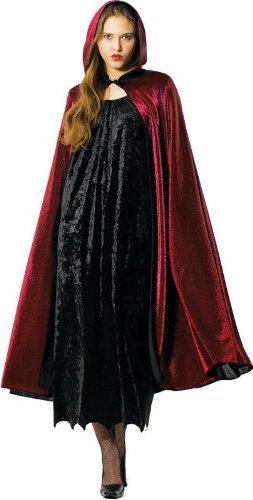 Preisvergleich Produktbild Umhang Vampir Vampirumhang Kostüm für Damen und Herren Halloween Fasching