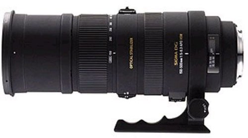 Sigma 150-500mm F5-6.3 OS DG APO HSM Sony-AF
