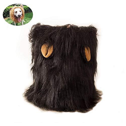 Auoker Hund Löwe Mähne Realistisch Hund Löwe Kostüm -