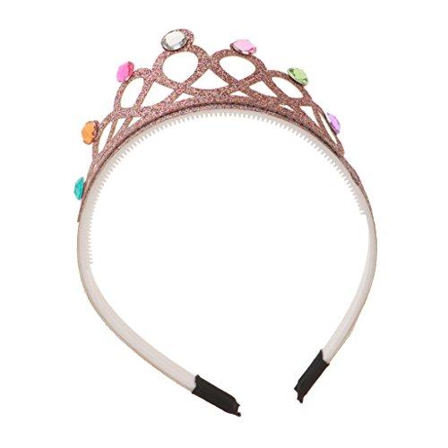 band Königin Haarreif Teufel Hörner Stierhörner Haarband für Halloween Party - Mehrfarbig (Niedliche Halloween Dekor)