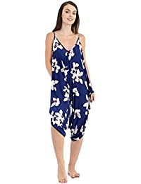 8c4dd430acd0 FUTURO FASHION Womens Jumpsuit with Pockets V Neck Wrap Playsuit Catsuit  Sizes 8-18 1080 ...
