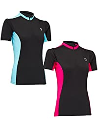 Tenn Ladies Coolflo Breathable Short Sleeved Cycling Jersey