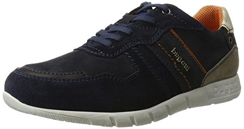 bugatti Herren 322310021400 Sneaker Blau (Dark Blue)