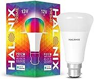Halonix Prime Prizm Smart 12W Base B22 Wi-Fi LED Bulb, Compatible with Amazon Alexa & Google Assis