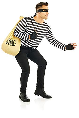 Fun Shack Herren Costume Kostüm, Robber, ()