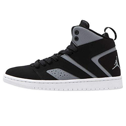 Nike Air Jordan Flight Legend Herren Hi Top Basketball AA2526 Sneakers Turnschuhe (UK 7 US 8 EU 41, Black cool Grey White 002) - Air Jordan Flight