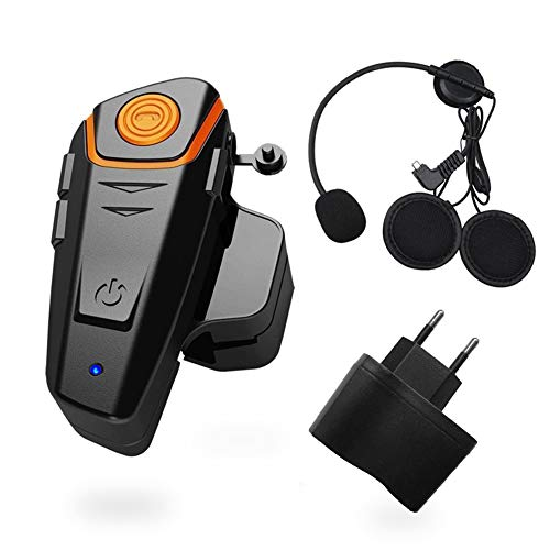 1000m Bluetooth Motorrad Intercom der Headset Wasserdicht