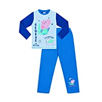 George Pig and Mr Dino Time for Bed Pyjamas George Cotton
