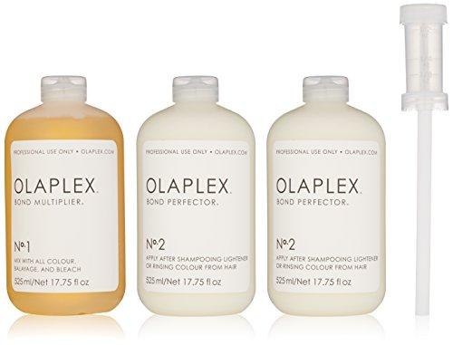 Olaplex Set di 3 prodotti per cura capillare, per uso professionale, 525 ml x 3