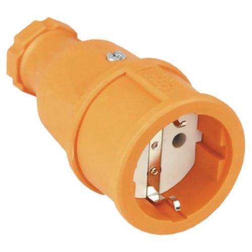 Schutzkontaktkupplung 2polig orange IP20, Herstellerbestellnummer: 4000873861