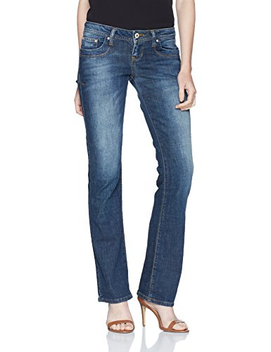 LTB Jeans Damen Jeans Valerie, Blau (Lasson Wash 50358), W27/L32 (5-pocket-flare Jeans)