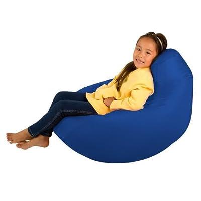 Kids Hi-BagZ® - Kids Bean Bag Gaming Chair - BLUE