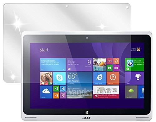 dipos I 2X Schutzfolie klar passend für Acer Aspire Switch 10 FHD Folie Displayschutzfolie