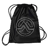 \m/-\m/ MARTERIA - White Logo - Turnbeutel/Rucksack / Gymbag