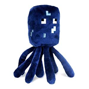 Minecraft 7-Inch Squid Animal Plush Toy
