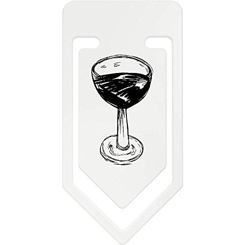 Wein Riesige Gläser (141mm 'Glas Wein' Riesige Plastik Büroklammer (CC00020364))
