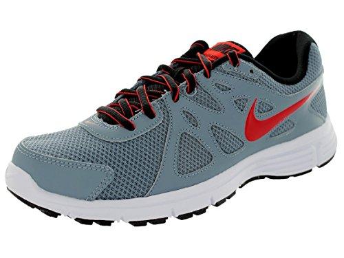Nike  Revolution 2, Chaussures à lacets et coupe classique homme Gris - Mgnt Grey/Chllng Rd-Blk-White
