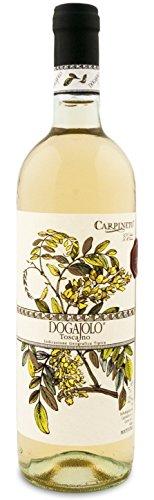 Dogajolo Toscano Bianco IGT 2017 - Carpineto | trockener Weißwein | italienischer Wein aus der Toskana | 1 x 0,75 Liter