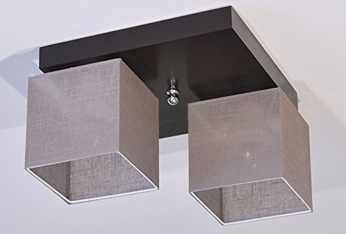 Plafoniera illuminazione a soffitto in legno massiccio lls226d