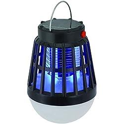 Solarbetriebene Buzz UV Lampe Licht Moskito Zapper Mörder Keine Strahlung Stumm Mosquito Lampe Nachtlicht für Outdoor