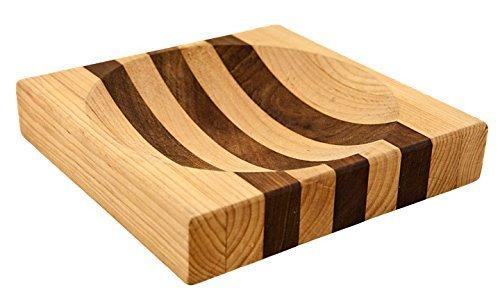 New Alaska Ulu Banjolele Schneidebrett Schüssel Board (mittelgroß 18,5cm-Verwendung für 15,2cm Ulu Banjolele Klinge)