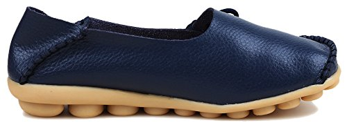 Fangsto - Mocassins (loafers) Femme Sty-1 Med. Navy