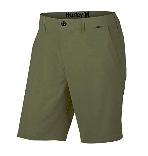 Hurley Herren Shorts Dri-FIT Chino 19 Zoll Dark Emerald