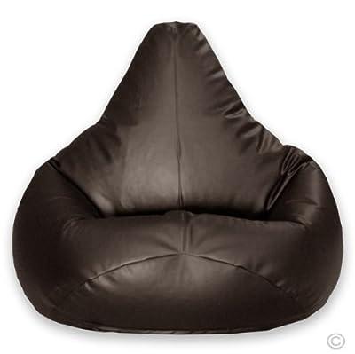 Hi-BagZ® Gaming Beanbag Faux Leather BROWN