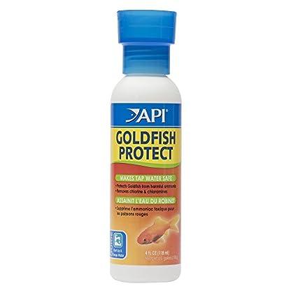 API GOLDFISH PROTECT Aquarium Water Conditioner 118 ml Bottle 1