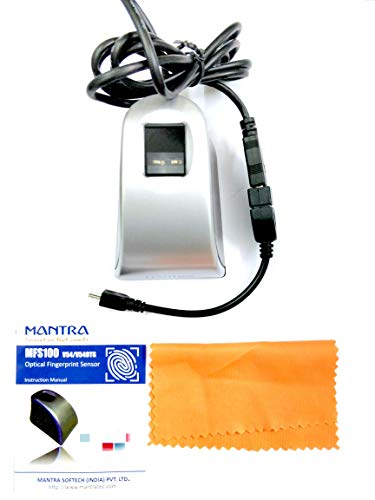 Mantra MFS 100 Biometric Fingerprint Scanner
