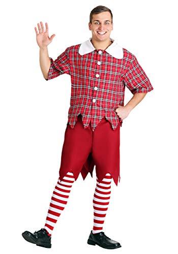 Plus Size Red Munchkin Fancy Dress Costume 4X (Erwachsene Munchkin Kostüme)