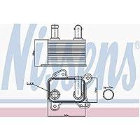 Nissens 90825 Radiador de Aceite Motor