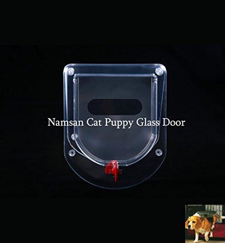 Namsan Pet Glastür, Glaskatze / Puppy Tür, Geeignet für G...