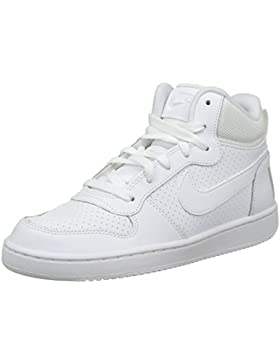 NIKE Court Borough Mid (GS), Zapatillas de Baloncesto Unisex bebé