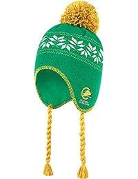 California Seals CCM Tassel Pom Snowflake Knit Hat Chapeau