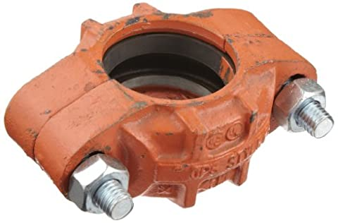 Dixon C12BU Ductile Iron with Buna-N Gasket Series S Pipe and Welding Fitting, Standard Coupling, 2