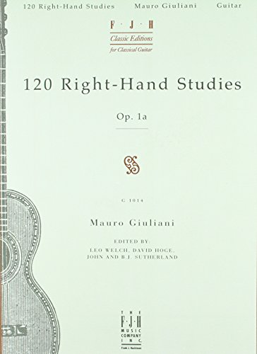 120 Right-hand Studies: Op. 1A