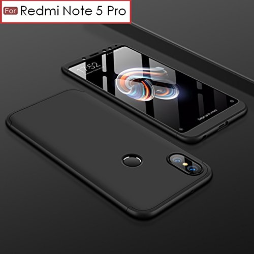 Back Case for REDMI Note 5 Pro – Wow Imagine 3 in 1 Case [ Anti Slip ] Super Slim [Hard] Hybrid PC All Angle Protection Lightweight Matte Hard Back Case Cover for XIAOMI MI REDMI Note 5 Pro