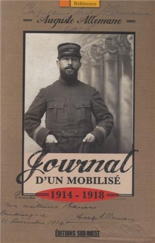 JOURNAL D'UN MOBILISE DE GUERRE 1914-1918