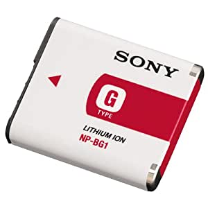 Sony NP-BG1 Type G Lithium Ion Rechargeable Battery Pack for Sony W Series T20 T100 N2 N1 H7 & H9 Digital Cameras