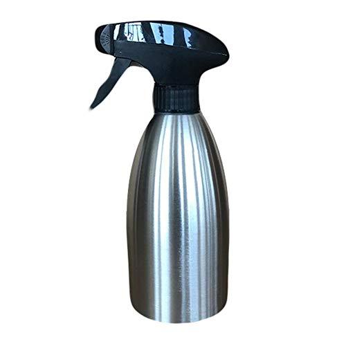 Clevoers dispensador de Aceite en Spray, Botella de Aceite de 500 ML de Acero Inoxidable para Barbacoa, ensaladas, Cocina, Asar, freír