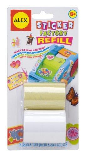 Alex Toys Craft Sticker Factory Refill (Refill Alex Toys)