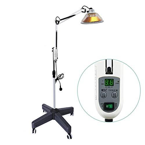 TDP Far Infrared Heizlampe Mineral Lichttherapie Akupunktur-Massagegerät mit höhenverstellbarem Ständer und Timer zur Verbesserung der Durchblutung Hals Rücken Arthritis Gelenk Muskeln Schmerz