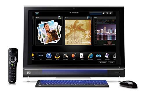 HP TouchSmart IQ810es Desktop PC Desktop-PC (Intel Core2Duo T8100, DDR2-SDRAM, 2x SODIMM, (7.200RPM), Kartenlesegerät 5in 1, Slot-Load Blu-ray-Player und DVD SuperMulti Brenner)